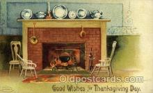 hol060201 - Artist Ellen Clapsaddle, Thanksgiving Postcard Post Cards