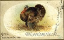 hol060203 - Artist Ellen Clapsaddle, Thanksgiving Postcard Post Cards