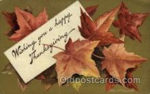 hol060211 - Artist Ellen Clapsaddle, Thanksgiving Postcard Post Cards