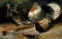 hol060212 - Artist Ellen Clapsaddle, Thanksgiving Postcard Post Cards