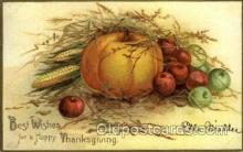 hol060213 - Artist Ellen Clapsaddle, Thanksgiving Postcard Post Cards