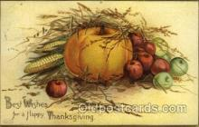 hol060217 - Artist Ellen Clapsaddle, Thanksgiving Postcard Post Cards