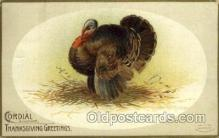 hol060218 - Artist Ellen Clapsaddle, Thanksgiving Postcard Post Cards