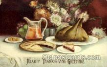 hol060219 - Artist Ellen Clapsaddle, Thanksgiving Postcard Post Cards