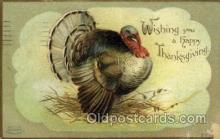 hol060223 - Artist Ellen Clapsaddle, Thanksgiving Postcard Post Cards