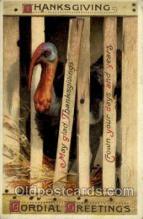hol060252 - Artist Ellen Clapsaddle, Thanksgiving Postcard Post Cards