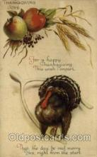 hol060255 - Artist Ellen Clapsaddle, Thanksgiving Postcard Post Cards