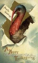 hol060273 - Artist Ellen Clapsaddle, Thanksgiving Postcards Post Card