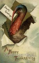 hol060274 - Artist Ellen Clapsaddle, Thanksgiving Postcards Post Card