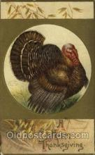 hol060281 - Artist Ellen Clapsaddle, Thanksgiving Postcards Post Card