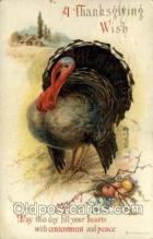 hol060284 - Artist Ellen Clapsaddle, Thanksgiving Postcards Post Card