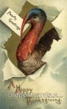 hol060293 - Artist Ellen Clapsaddle, Thanksgiving Postcards Post Card