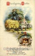 hol060294 - Artist Ellen Clapsaddle, Thanksgiving Postcards Post Card