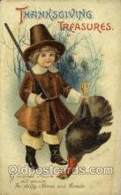hol060295 - Artist Ellen Clapsaddle, Thanksgiving Postcards Post Card
