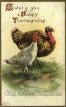 hol060298 - Artist Ellen Clapsaddle, Thanksgiving Postcards Post Card