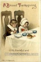 hol060301 - Artist Ellen Clapsaddle, Thanksgiving Postcards Post Card