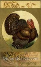 hol060311 - Artist Ellen Clapsaddle, Thanksgiving Postcards Post Card