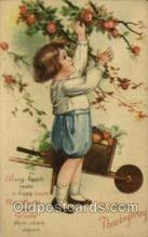 hol060312 - Artist Ellen Clapsaddle, Thanksgiving Postcards Post Card