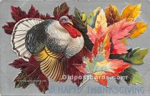 hol061186 - Thanksgiving Old Vintage Antique Postcard Post Card