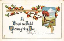 hol061203 - Thanksgiving Old Vintage Antique Postcard Post Card
