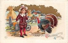 hol061207 - Thanksgiving Old Vintage Antique Postcard Post Card