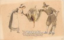 hol061210 - Thanksgiving Old Vintage Antique Postcard Post Card