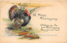 hol061216 - Thanksgiving Old Vintage Antique Postcard Post Card
