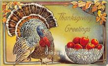 hol061228 - Thanksgiving Old Vintage Antique Postcard Post Card
