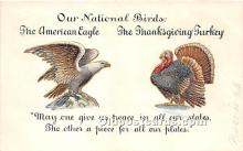 hol061271 - Thanksgiving Old Vintage Antique Postcard Post Card