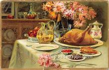 hol061291 - Thanksgiving Old Vintage Antique Postcard Post Card