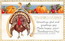 hol061299 - Thanksgiving Old Vintage Antique Postcard Post Card