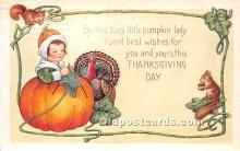 hol061300 - Thanksgiving Old Vintage Antique Postcard Post Card