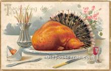 hol061302 - Thanksgiving Old Vintage Antique Postcard Post Card