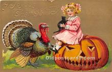 hol061303 - Thanksgiving Old Vintage Antique Postcard Post Card