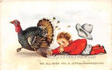 hol061307 - Thanksgiving Old Vintage Antique Postcard Post Card