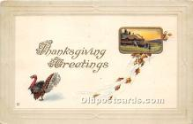 hol061309 - Thanksgiving Old Vintage Antique Postcard Post Card