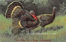 hol061311 - Thanksgiving Old Vintage Antique Postcard Post Card