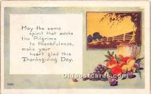 hol061312 - Thanksgiving Old Vintage Antique Postcard Post Card