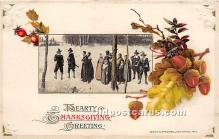 hol061316 - Thanksgiving Old Vintage Antique Postcard Post Card