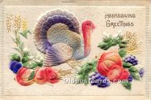 hol061317 - Thanksgiving Old Vintage Antique Postcard Post Card