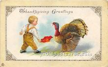 hol061323 - Thanksgiving Old Vintage Antique Postcard Post Card