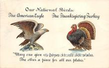 hol061329 - Thanksgiving Old Vintage Antique Postcard Post Card