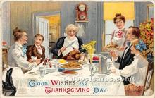 hol061331 - Thanksgiving Old Vintage Antique Postcard Post Card