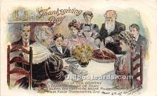 hol061370 - Thanksgiving Old Vintage Antique Postcard Post Card