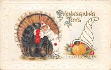 hol061379 - Thanksgiving Old Vintage Antique Postcard Post Card