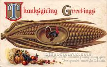 hol061382 - Thanksgiving Old Vintage Antique Postcard Post Card