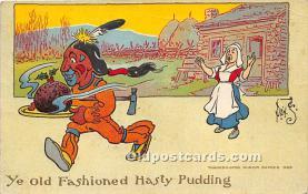 hol061387 - Thanksgiving Old Vintage Antique Postcard Post Card