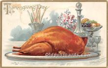 hol061401 - Thanksgiving Old Vintage Antique Postcard Post Card