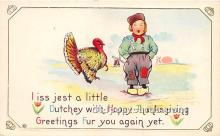 hol061404 - Thanksgiving Old Vintage Antique Postcard Post Card