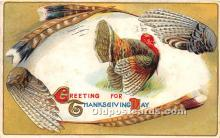 hol061405 - Thanksgiving Old Vintage Antique Postcard Post Card